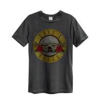 ropa rosas al por mayor-Camiseta de Guns N Roses 'Bullet Guns' - Ropa amplificada - NEU UND OFFIZIELL