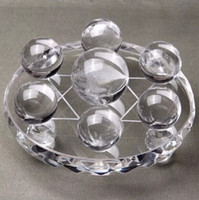 Wholesale Folk Star - The natural white crystal seven star array wind water ball is a requirement for the home opening process gifts