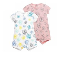 Wholesale pink baby clothing online - Fashion Joy Toddler Infant Baby Clothing Boy Kids Cotton Romper Short Sleeve Jumpsuit Summer Casual Baby Clothes Outfit
