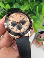 Wholesale Cosmic Black - Top brand rose gold 116518LN luxury men's Cosmic model watch sapphire glass mirror automatic mechanical classic avant-garde Rome design