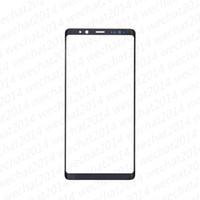 beachten sie vorne glas ersatz großhandel-50 STÜCKE OEM Front Outer Touch Screen Glaslinse Ersatz für Samsung Galaxy Note 8 N950A N950F freies DHL