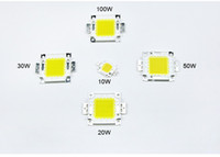 Wholesale 3w chip leds resale online - 1Pcs W W LED Spotlight Bulb W W W W W High Power integrated LEDs lamp Chip COB SMD Diodes For Flood light