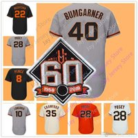 Wholesale Andrew Mccutchen Jersey - 60th Evan Longoria Jersey Madison Bumgarner Andrew McCutchen Mark Melancon Buster Posey Brandon Crawford Hunter Pence Brandon Belt Panik