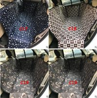 Wholesale quality car mats - Pet Dog Car Seat Covers Waterproof Back Bench Seat Car Interior Travel Accessories Car Seat Covers Mat Pet Carries Top Quality