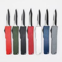 facas de bolso mini presente venda por atacado-8 modelos mini chave fivela de bolso faca de alumínio dupla ação tático faca de defesa dobrável edc faca de acampamento faca de caça facas de presente de natal