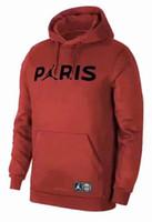 paris hoodie al por mayor-Psg París para hombre con capucha de diseño rompevientos 18/19 psg, chándal de fútbol, chaqueta de fútbol MBAPPE survêtement hombres sudaderas con capucha chaquetas trajes para correr
