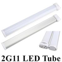 rohr 2g11 großhandel-Neues bestes 2G11 LED Licht 2G11 Schlauch LED 12W / 230mm 15W / 325mm 18W / 415mm 25W / 540mm SMD2835 bereifte Abdeckung AC85--265V wärmen sich / kühles Weiß freies Verschiffen
