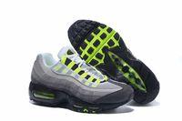 zapatillas de tren al por mayor-Fashion ria Cushion 95 Runner ShOes Para hombre Sports Negro Blanco Womens Trainers Sneakers Fashion athletic Walking trainING shOes