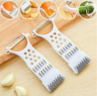 Wholesale Fruit Spices - Multifunctional Vegetable Fruit Tool Carrot Potato Peeler Vegetable Slicer Cutter Cheese Spice Grater Kitchen Cookig Tools CCA8739 200pcs