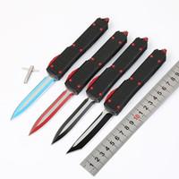 cuchillos de colores al por mayor-4 modelos War Star D2 hoja colorida doble acción táctica autodefensa plegable edc cuchillo camping cuchillo caza cuchillos regalo de navidad