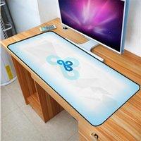 размер коврика для мыши оптовых-Большой размер 400X900MM игровой коврик для мыши ноутбук клавиатура Pad высокое качество C9 команда резиновая накладка