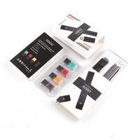 ecigs freies verschiffen großhandel-COCO SMOKING Vape Pen-Kits 220mAh Ultra Tragbare Ecigs Starter Kit für Jili VII Dampfschale Patrone Starter Kit kostenloser Versand