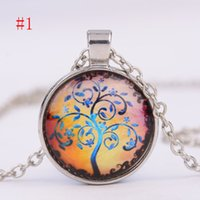 Wholesale Tree Life Family Gifts - Hot Mom You Are The Heart Of Our Family family Tree Of Life Chain Necklace Fashion Pendant Necklaces