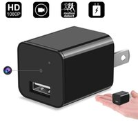 Wholesale Hidden Spy Cameras For Home - Hidden Spy Camera Newest Model Smart Mini Spy Charger With Motion Detection and Loop Recording For Home and Office Security