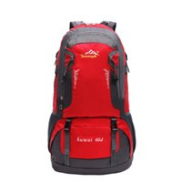 outdoor sport 60L mountaineering backpack laggage bag travel luggage big  size bag e0c3c70edca99