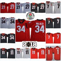 nick chubb rose bowl jersey