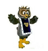 Wholesale Adult Costumes Owl - High quality Crown owl eagle Adult Size Halloween Cartoon Mascot Costume Fancy Dress