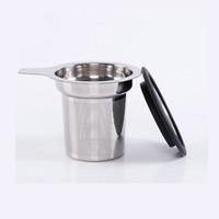 coador grande venda por atacado-Alta Qualidade 304 Aço Inoxidável Infusor De Chá De Malha Filtro com Grande Capacidade de Tamanho Perfeito de malha de filtro de Chá
