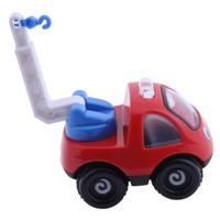 Wholesale crane plastics - Inertial Engineering Vehicle Toys Mini Cartoon Crane Baby Kids Toys