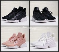 Wholesale muse black - 2018 new Muse Echo Satin EP fashion Running shoes Women Girls Satin Weave Creeper Rihanna Pink brand runner sneaker Campus casual chaussures