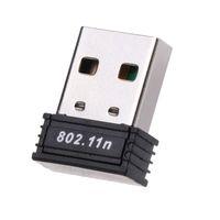 tp mini al por mayor-150Mbps Mini USB WiFi Inalámbrico N Lan Adaptador de red 802.11 b / g / n Wi-Fi Dongle