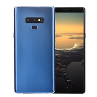 Wholesale bluetooth frame online - 3G WCDMA Goophone Note9 Note Clone GB GB Quad Core MTK6580 Android inch Curved Full Screen MP Camera Metal Frame Smartphone