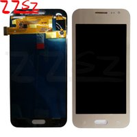 Wholesale Tft Lcd Panel Touch Screen - New LCD Display Touch screen Digitizer For Samsung Galaxy J2 2015 J200 J200F J200Y TFT Adjusted Brightness Gold Black free DHL