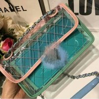 Wholesale fiber shops - Jelly bag new women shoulder bags fashion messenger bag luxury handbags shopping bagss tote new 2018