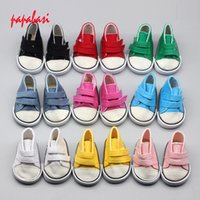 Wholesale Handmade Clothes For Girls - Cute 18Inch Baby Born Doll Shoes For American Girl Baby Born Doll Clothes Accessories Fashion Handmade Sneakers Dress
