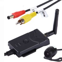 Wholesale rearview backup camera - eClouds New 903W Car Rear View Camera Wifi Transmitter for Car Rearview Backup Camera AV Interface