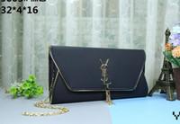 çanta için yeni stiller toptan satış-Yeni stiller Ünlü Tasarımcı Marka Adı Moda Deri Çanta Kadın Bez Omuz Çantaları Lady Deri Çanta Çanta çanta size32 * 4 * 16 cm