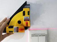 Wholesale laser marking instrument - Free Shipping 1PCS 90 Degree Ground Laser Rectangular Marking Machine Infrared Level Instrument Horizon Level Tool for Floor Construction