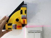 laser marking instrument großhandel-Freies Verschiffen 1 STÜCKE 90 Grad Boden Laser Rechteckigen Markierungsmaschine Infrarot-ebene Instrument Horizont Ebene Werkzeug für Bodenbau