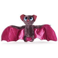 bükülebilir oyuncaklar toptan satış-40 * 20 cm Film Otel Transilvanya 2 MAVIS YARASA Bükülebilir Kanatları Peluş Bebek Oyuncak Hediyeler