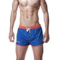 d696fe107d Summer Men's Swimwear Brand Stylish Briefs Male Sexy Swimming Trunks Slim  Low Rise Men Bathing Suit Boxer Shorts Beach Skin Swimsuit