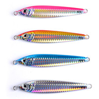 Wholesale jigs lead lures for sale - Group buy Hot Metal Jigs Laser Lead Artificial lure Size g g g Anti corrosion rust Deep sinking Saltwater iron fishing bait