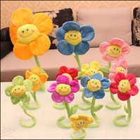Wholesale Pink Partner - Wholesale- 2015 32cm New Arrival Hot Sale SunFlower Plush & Stuffed Toy As Child's good Partner Kawaii The Best Gift Free Shipping