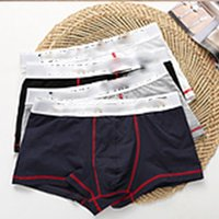 Wholesale Men Boxer Pants - Brand Boxer Men Underwear Sexy Underpants Male Panties Pants Trunks Boxer shorts Hot sale