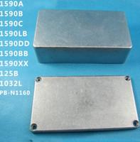 f5ed93917c Stomp Box Effects Aluminum Pedal Enclosure FOR Guitar sell 1590A 1590B  1590C 1590BB 1590DD 1590LB 1590XX 1032L K8 PB-1160 Style