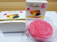 Wholesale Whitening Soap Sale - Hot Sale Bumebime Handwork Whitening Soap with Fruit Essential Natural Mask White Bright Oil Soap free shiping DHL