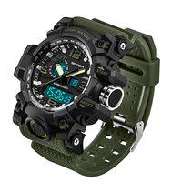 Wholesale pin electronics online - 2018 SANDA Men s Military Sport Watch Men Top Brand Luxury Famous Electronic LED Digital Wrist Watch Waterproof Dive Climbing Wrist Watches