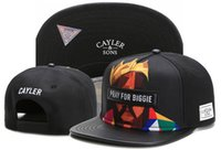 ingrosso cayler figli weezy cap-Cool Navy BUBBA Kush Cayler Sons Cappello Weezy Snapback Cappelli a buon mercato Cappellini Cayler And Sons Snapbacks Cappelli Online Sport Caps Spedizione gratuita