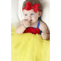 Discount snow white baby tutu - Snow White Baby Communion Character Dresses Toddler Tutu Dress For Newborn Birthday Party Girl Vestidos Formal Clothing Wear