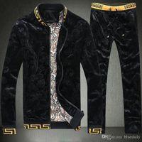 survêtements design pour hommes achat en gros de-Survêtements de haute qualité pour hommes Sweat Suit Marque design Vêtements Survêtements pour hommes Vestes Vêtements de sport Ensembles Jogging