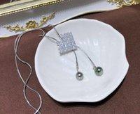 gümüş kalp ayarları toptan satış-Shinning Kalp Kolye Kolye Tutucu 14 K Altın dolgulu Kalp Tarzı Kazak Uzun Zincir Ayarları GümüşAltın Renk 3 Adet / grup