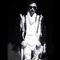 Wholesale Fox Fur Leather Jacket Men - Wholesale- Men long faux fur coat winter, Fox fur fashion hooded thickening Multi-size jackets, High-grade men's comfortable warm overcoats