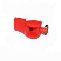 sifflet classique achat en gros de-Survie En Plastique Whistling Fox4080 Classique Dauphin Basketball Sport Arbitre Spécial Sifflet Camping Rouge Jaune Vente Chaude 1xc Ww