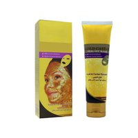 Wholesale cream spa - High Quality 24K Gold Mask Collagen Spa Salon Blackhead Remover Face Care Gold Mask free shipping