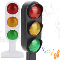 ingrosso macchina verde mini-Semaforo Rosso Verde Persona reale Fonazione Giocattoli di simulazione Apprendimento Modello educativo Scena Bambino Regalo bambino 12lh V