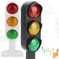 Wholesale green scene - Traffic Lights Red Green Real Person Phonation Simulation Toys Learning Educational Model Scene Child Kid Gift 12lh V